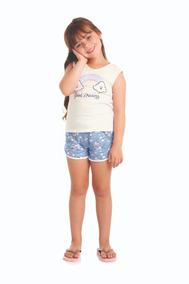 cd43f752d7a718 Pijama Infantil Good Dreams Presente Diferente - Alenice