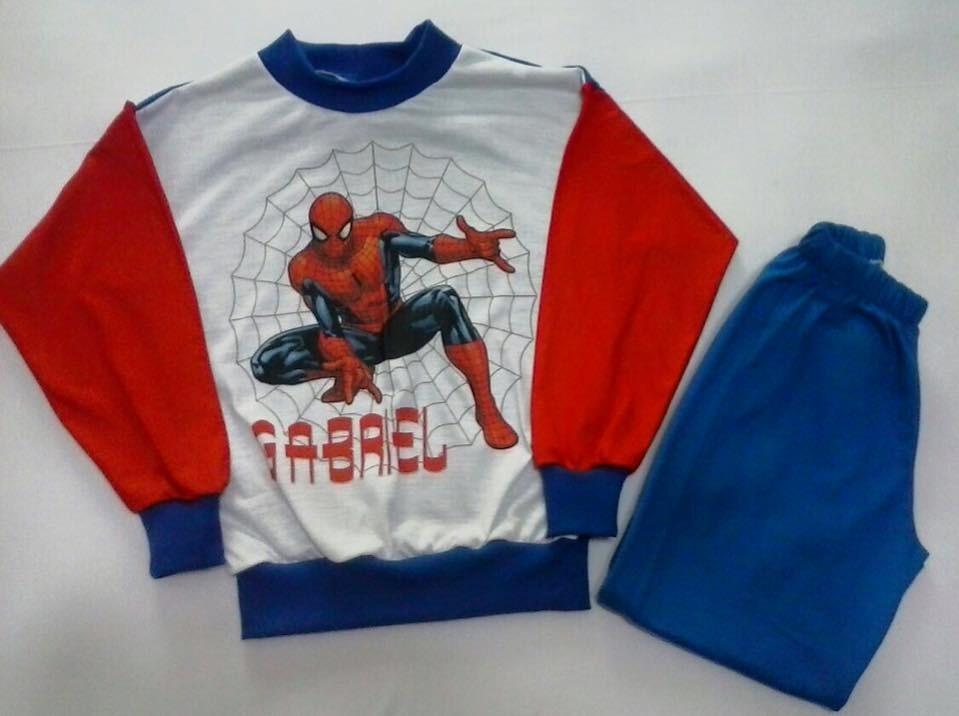 b6d346bd2 pijama infantil malha personalizado homem aranha e outros. Carregando zoom.