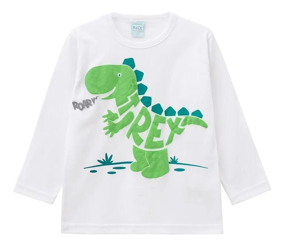 22c1d191ecbd15 Pijama Infantil Masculino Kyly Dinossauro