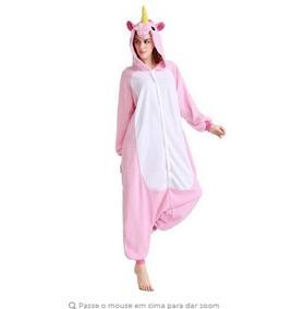 d954079c4d Unicornio Pijama - Roupa de Dormir Pijamas para Feminino Rosa claro ...