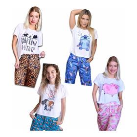 Pijama Invierno / Remera + Pantalon Largo / Varios Modelos