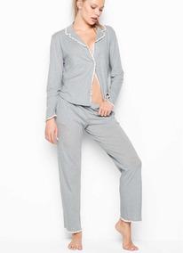 Pijama Invierno Pantalon Y Secret Camisa Victoria SVpqMUzG