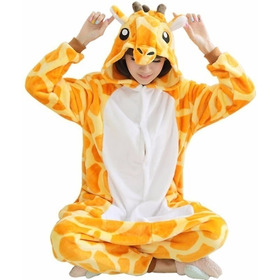 Pijama Jirafa Disfraz Kigurumi Polar Entero Adultos