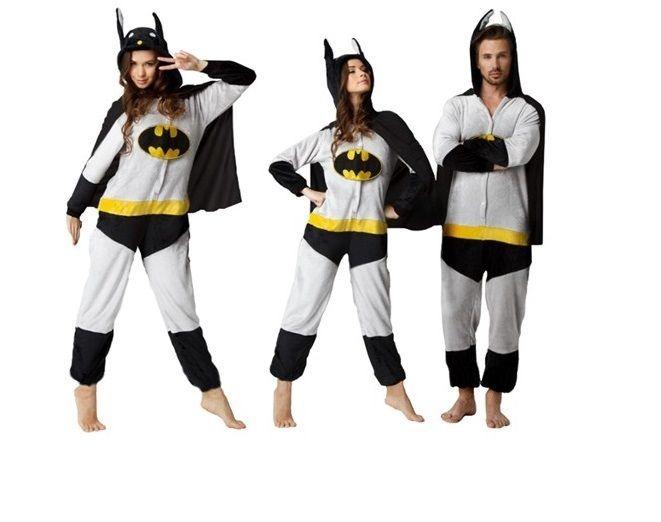 f6943bcdeff628 Pijama / Kigurumi Batman Adulto