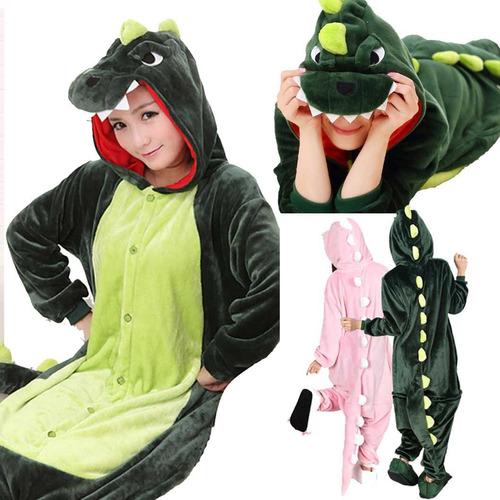 pijama kigurumi dinosaurio cosplay disfraz envío gratis