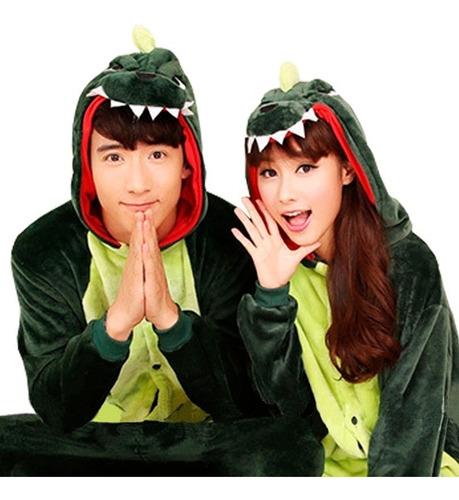 pijama kigurumi disfraz dinosaurio verde adulto envío gratis