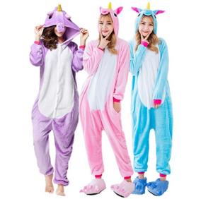193955335c8ef6 Pijama Kigurumi Pijama Unicórnio / Pikachu/ Freddys / Foxy