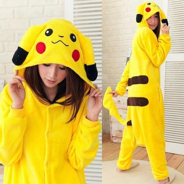 Pijama Kigurumi Pokémon Pikachu Promoção - R  119 67b249edf8e72