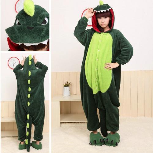 pijama kigurumi polar dinosaurio lagarto para adultos