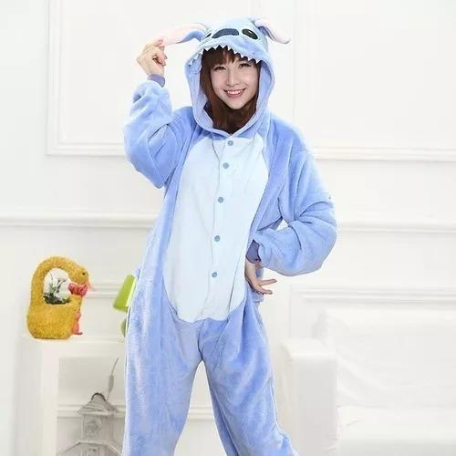 pijama kigurumi stitch con envío gratis