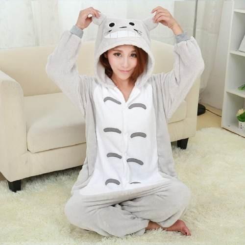 pijama kigurumi totoro polar pijama para adultos