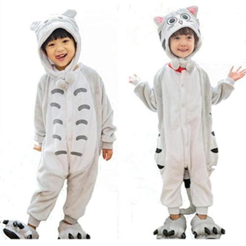 pijama kigurumi unicornio celeste niños niñas talla 4 a 10