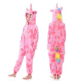 f04a69cd4 Pijama Kigurumi Unicornio Infantil Nena Estrellas Multicolor