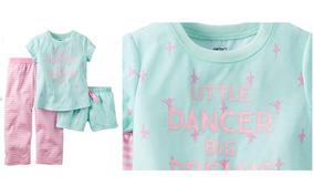 71ccbd5bb6 Pijama Kit Conjunto 3 Piezas Carter´s Nuevo Original 2años