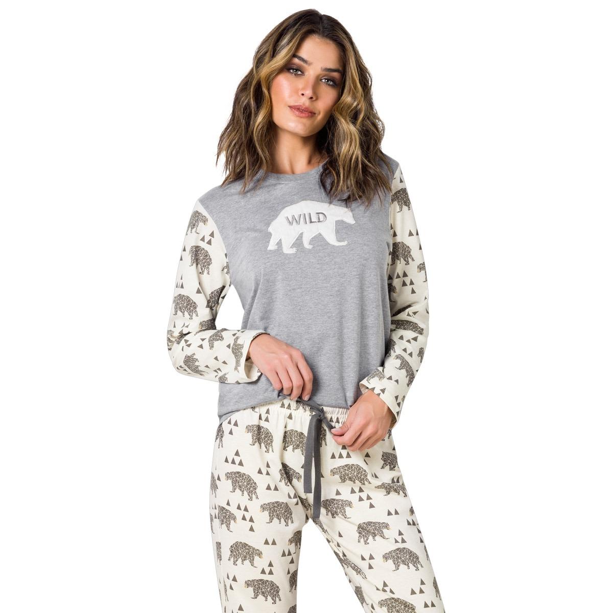 0e5661ffde Pijama Longo Adulto - Louvre - R  147