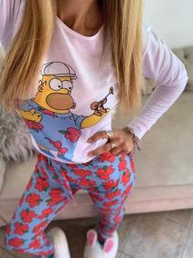 ahorros fantásticos para toda la familia ajuste clásico Pijama Los Simpsons