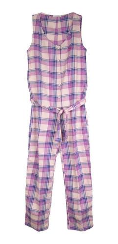 pijama macacão feminino em flanela