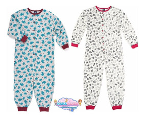 61b200aa8d2303 Pijama Macacão Infantil Moletom Hering Kids Cód: 340