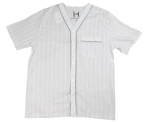 pijama maculino samba canção e bolso tricolor curto