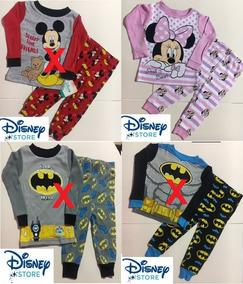 485699120 Pijama Malha 2 Peças Importado Menina Minnie Disney Original