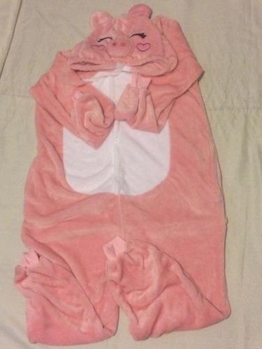pijama mameluco disfraz cerdo cerdito puerco adulto