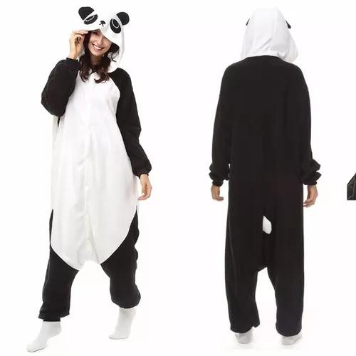Pijama Mameluco Kigurumi Cosplay Panda Adulto Envio Gratis ...