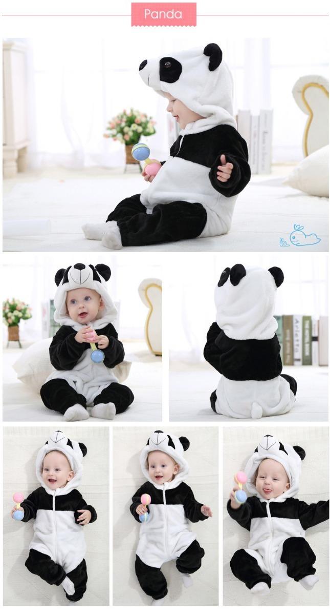 gran selección precio inmejorable calidad primero Pijama Mameluco Kigurumi Oso Panda Bebés Niños Envío Gratis