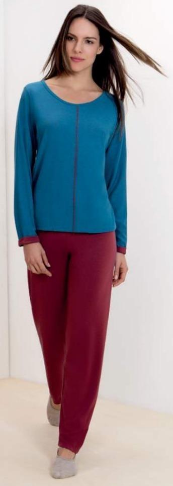 27d3fdf80 pijama manga longa feminino xadrez lupo inverno algodão. Carregando zoom.