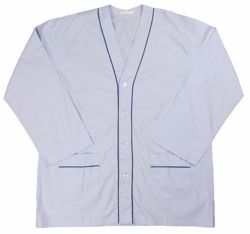 pijama masculino estilo paletó verão ml com bolsos