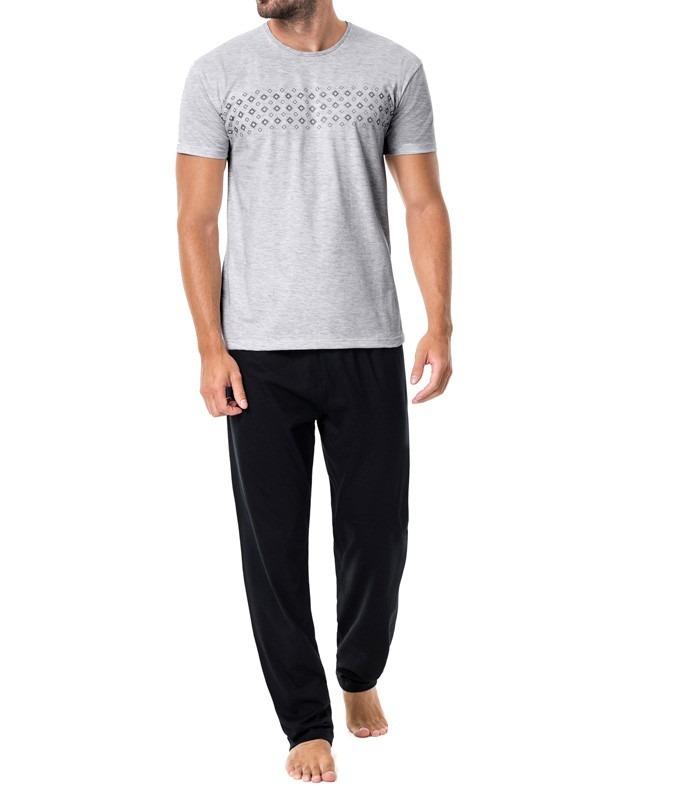 d0e822093 pijama masculino longo malwee algodão. Carregando zoom.