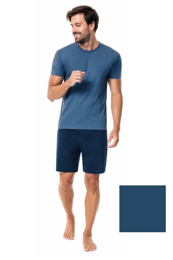 4d2f1522f pijama masculino plus size verão - malwee - 43737. Carregando zoom.