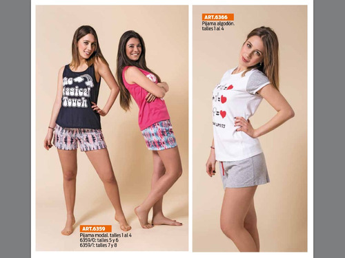 pijama modal o pijama algodon