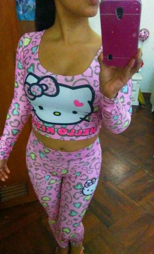 pijama mujer hello kitty importado