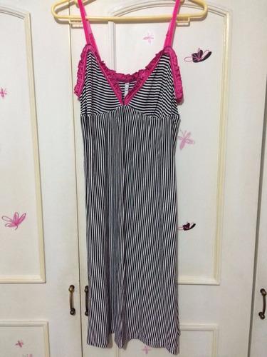pijama mujer lencería verano rayas talla s m nueva! algodón