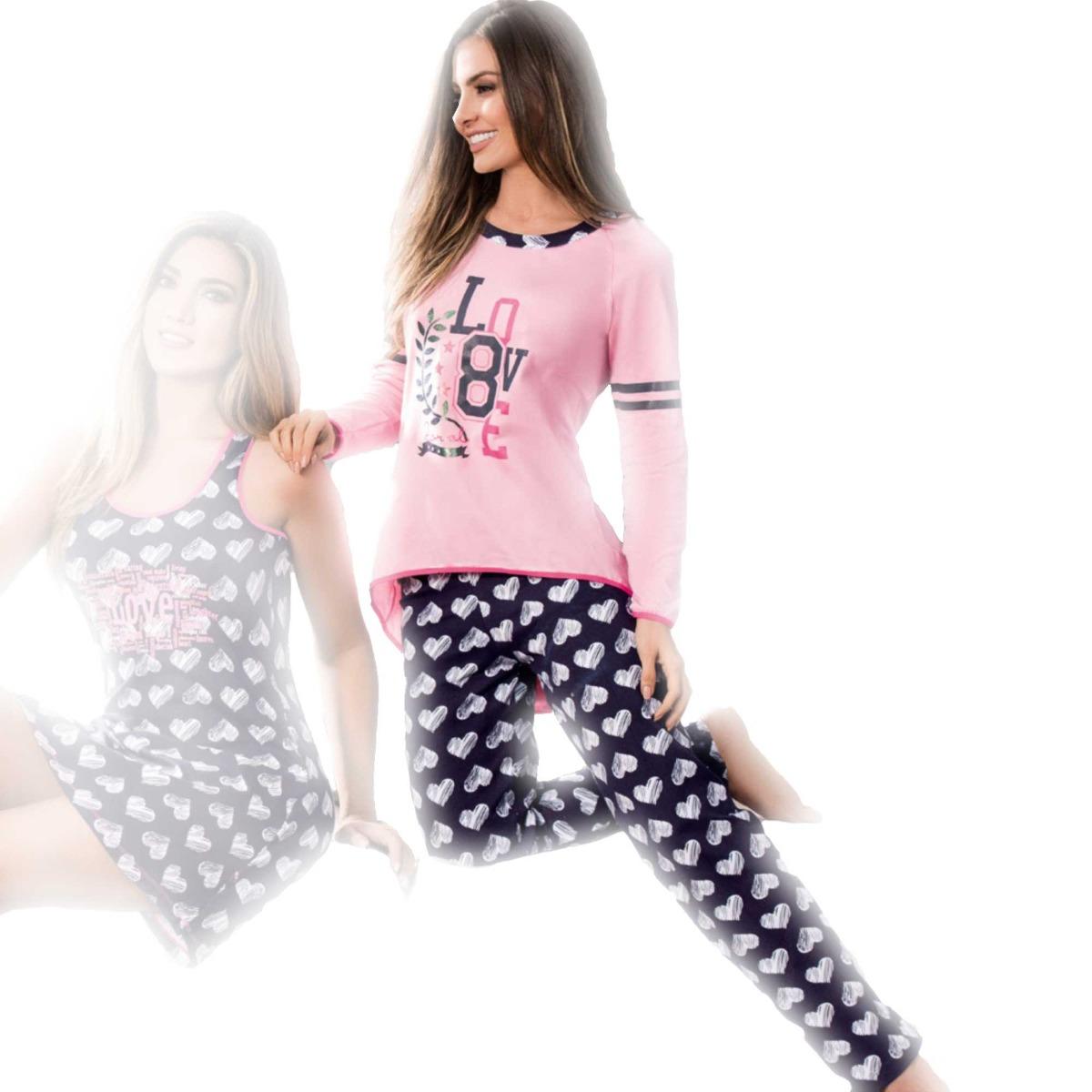 f96973c0a760 Pijama Para Mujer Pantalón Lenceria Sexy Pijamas