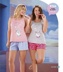 1e5391a298 Pijama Con Cactus - Pijamas de Verano de Mujer en Mercado Libre ...