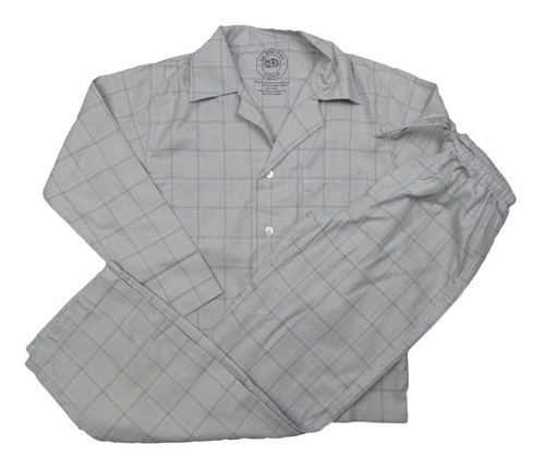 pijama paletó flanela masculino