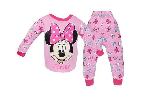 pijama pantalon completo interlok estampado minnie bb ideal
