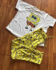 910cbde791 Pantalon Pijama Bob Esponja Importado - Ropa y Accesorios en Mercado ...