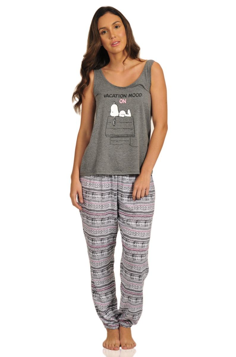 0aea52763e pijama pantalón y camiseta de mujer women secret snoopy. Cargando zoom.