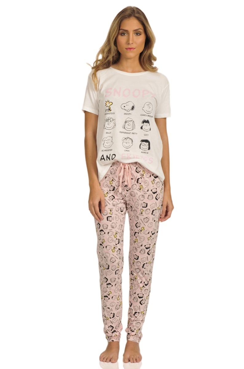 b71a956483 zoom de snoopy pijama y pantalón Cargando women secret camiseta mujer  wCCz48xtq