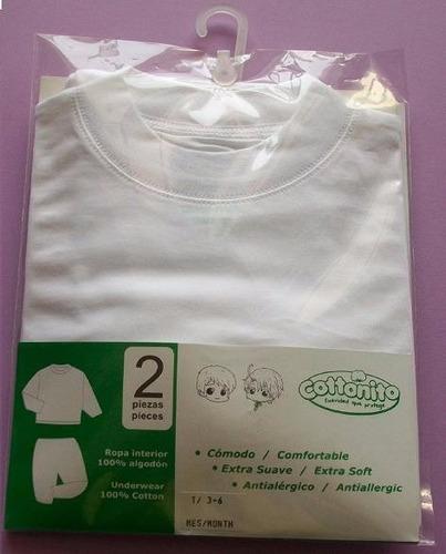 pijama para bebé algodón pima cottonito (18-24 meses)