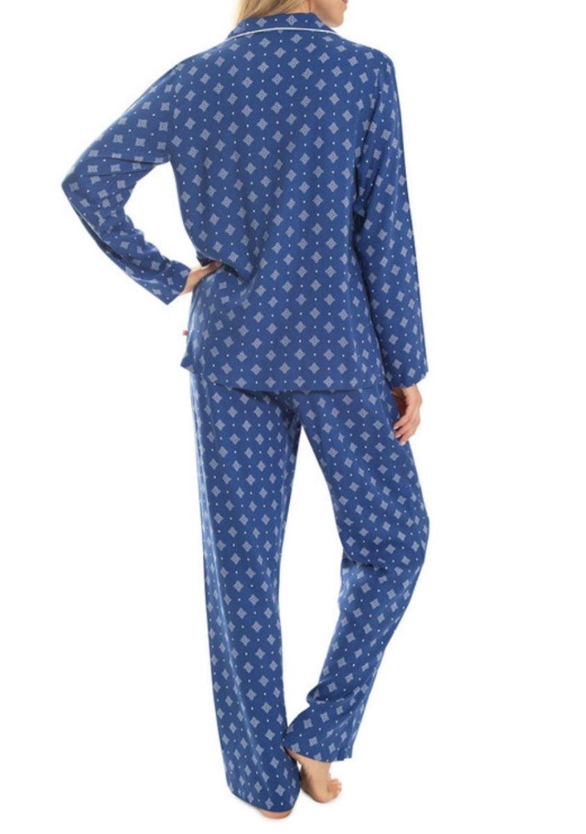 593971c429 pijama para dama camisa y pantalon! algodon 100%! talla l! Cargando zoom.