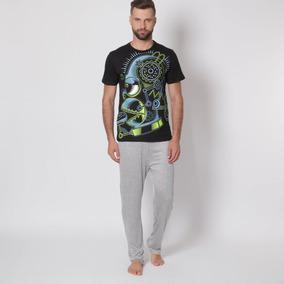 79682c0cc1 Pijamas Hombre Franela - Pijamas Largas de Hombre en Mercado Libre México