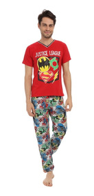 ff2c4097 Pijama Para Hombre Liga De La Justicia Flash Batman Superman