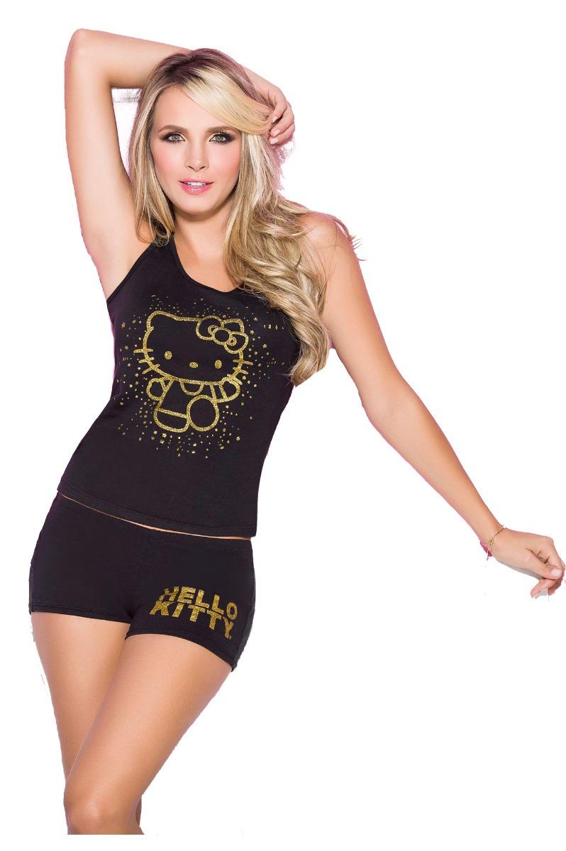 7c0830765 Pijama Para Mujer Hello Kitty Short Conjunto Dama -   54.900 en ...