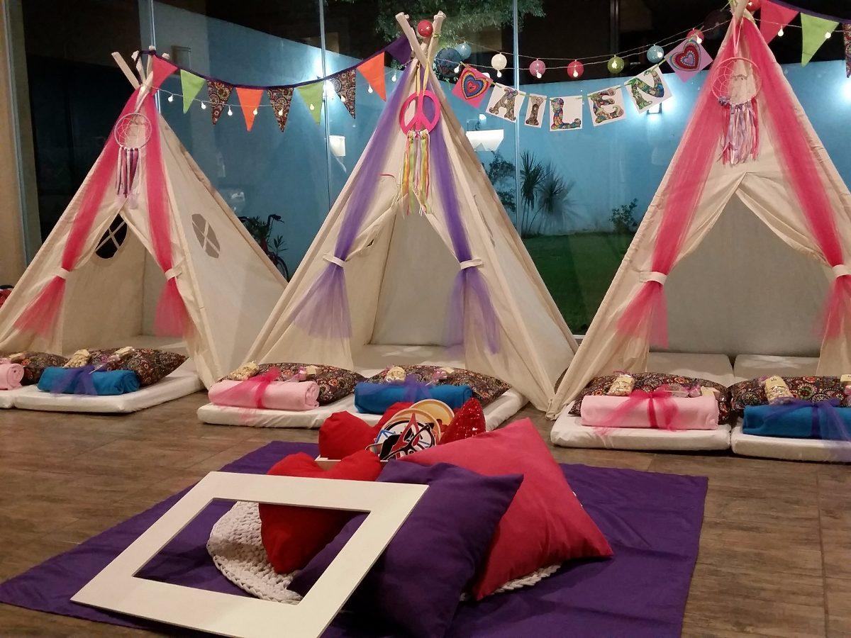 b229159e7 Pijama Party Pijamadas - Alquiler Y Ambientacion Carpa India - en ...