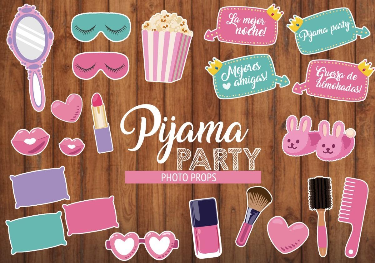 0568b132a Pijama Party Props