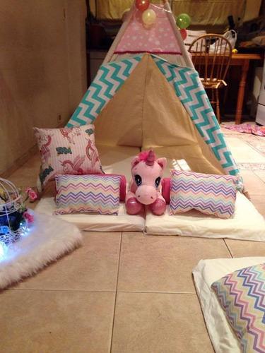 pijama party*alquiler de carpas para pijamadas mira la promo