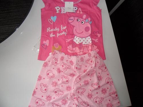 pijama peppa pig - apenas 1 unidade - tam 5 - pronta entrega